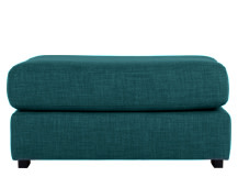 Mortimer Modular Ottoman, Shadow Teal