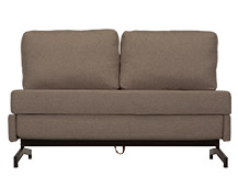 Motti Armless Sofa Bed, Grouse Brown