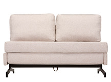 Motti Armless Sofa Bed, Pipit Beige
