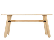Paddle Dining Table, Ash