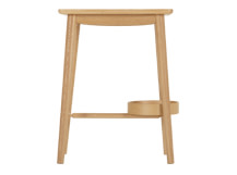 Penn Bedside Table, Oak