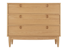 Penn Compact Chest of Drawers, Oak