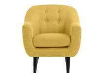 Mini Ritchie Armchair, Ochre Yellow