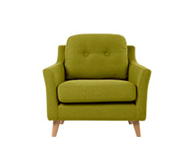 Rufus Armchair, Leaf Green