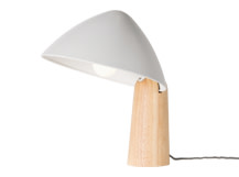 Sable Table Lamp, Grey