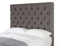 Skye Double Headboard, Pewter