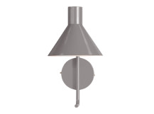 Truman Task Wall Lamp, Matt Grey