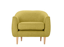 Tubby Armchair, Citrus Green