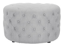 Blakes Small Round Ottoman, Persian Grey