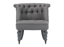 Bouji Chair, Graphite Grey and Slate