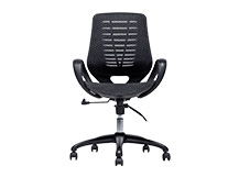 Buro Swivel Office Chair, Black