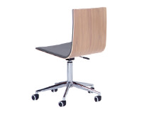 Dolly Office Chair, Ash and Grey