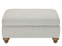 Elliott Storage Footstool, Chic Grey
