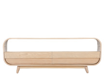 Esme Coffee Table With Two Drawers, Ash