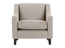 Halston Armchair, Pebble Weave