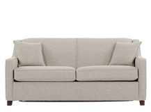Halston Sofa Bed, Pebble Weave