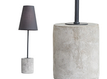 Ira Table Lamp, Harrier Grey