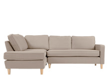 Lugano Left Hand Facing Corner Sofa Group, Camel Beige