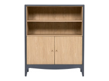 Magdalena Cabinet, Oak and Grey