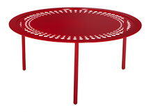 Morocco Coffee Table, Red