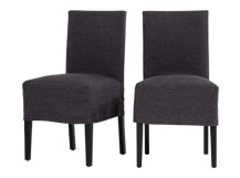 2 x Parson Dining Chairs, Castle Grey