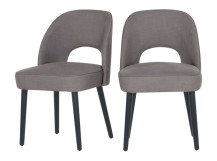 Rory Dining Chair, Graphite Grey