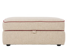 Wolseley Storage Ottoman, Fawn Beige Wool