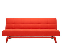 Yoko Sofa Bed, Saffron Orange