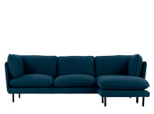 Wes corner chaise, Petrol Teal