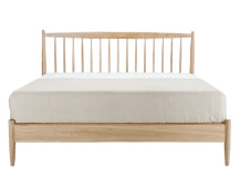 Willow Kingsize Bed, Oak