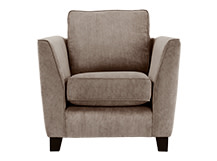 Wolseley Armchair, Mushroom Brown Corduroy