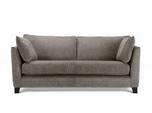 Wolseley 3 Seater Sofa, Mid Grey Corduroy