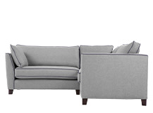 Wolseley Corner Sofa Group, Wolf Grey Wool Mix