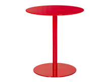 Polka Side Table, Red