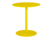 Polka Side Table, Yellow