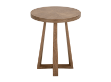 Belgrave Side Table, Dark Stained Oak