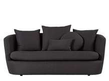 Demi 2 Seater Sofa, Iron Grey