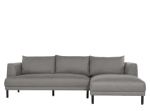Bowery Right Hand Facing Chaise, Fossil Grey