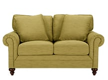 Hawkins 2 Seater Sofa, Olive Green