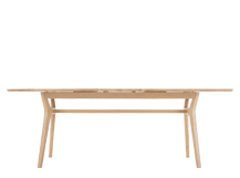 Jenson Extending Dining Table, Solid Oak