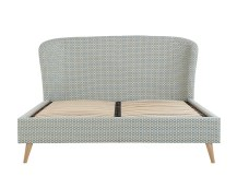 Lulu Kingsize Bed, Honeycomb Weave