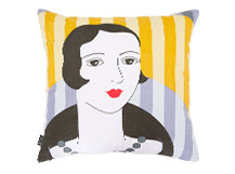 Meyer Square Scatter Cushion 45 x 45cm, Mustard Yellow