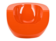 Moon Chair, Orange