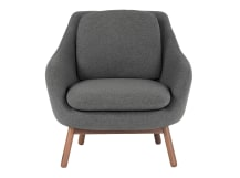 Oslo Accent Chair , Marl Grey