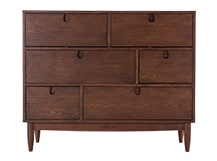 Penn Chest of Drawers, Dark Stain Ash
