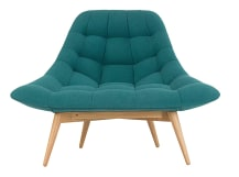 Kolton Chair, Mineral Blue
