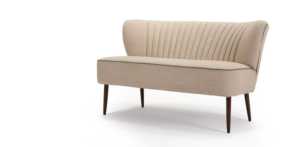 Jersey 2 Seater Sofa in biscuit beige  made.com