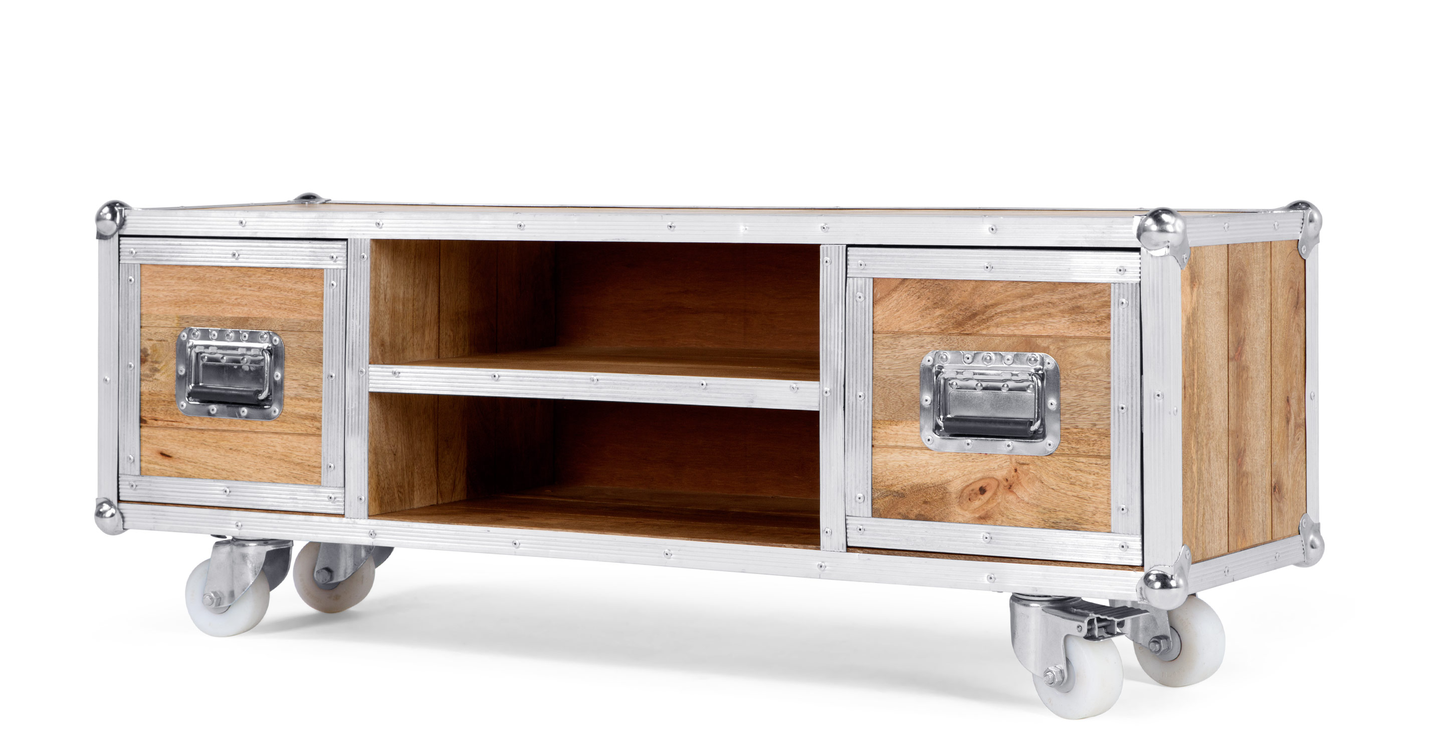Meuble Tv Design Made Com Meuble Multimedia Bois Caddy Le  # Made Com Meuble Tv