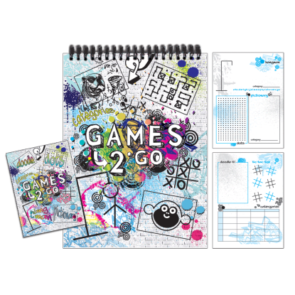 Picture of Games 2 Go Activity Book