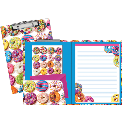 Picture of Assorted Donuts Clipboard Set